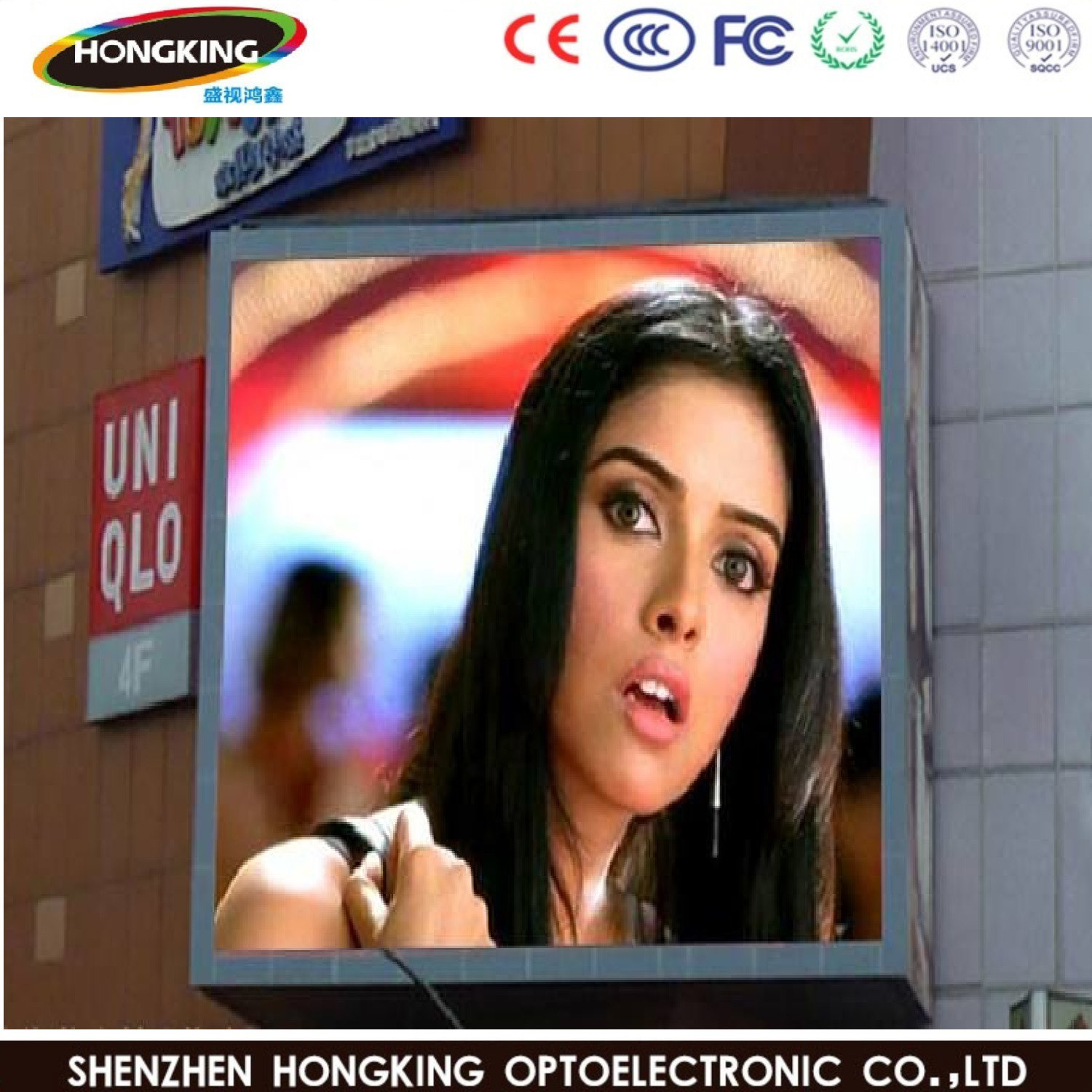 1920Hz Refresh Outdoor P5 P10 P6 Full Color LED Display