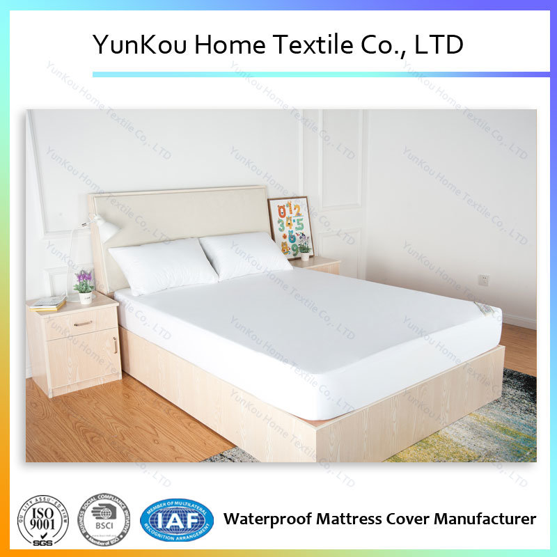 Good Quality Polyester Machine Washable Waterproof Mattress Cover Factory Price