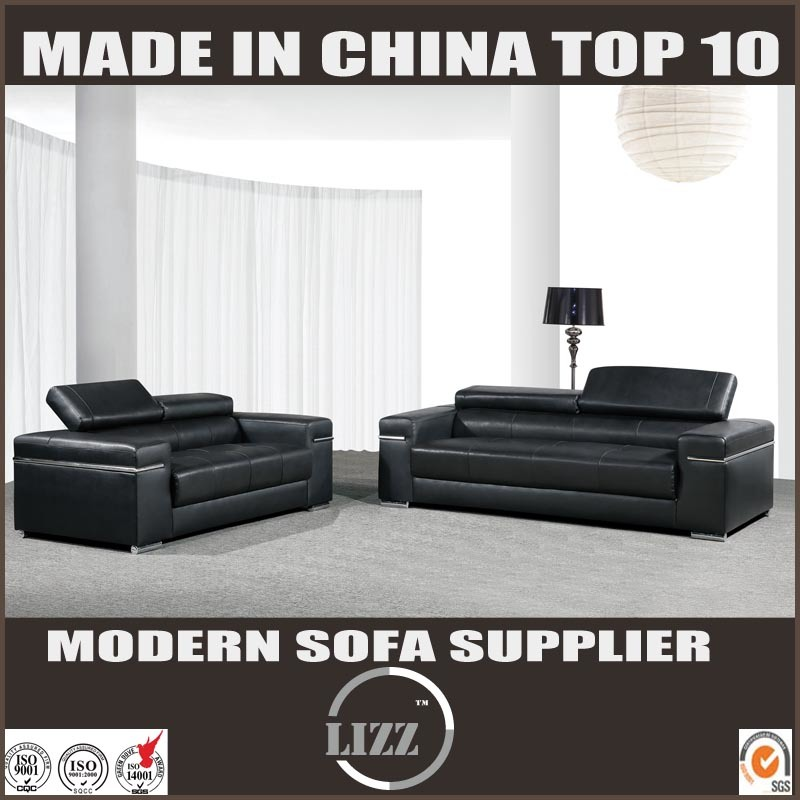 Modern Group Leisure Leather Sofa Set for Livingroom