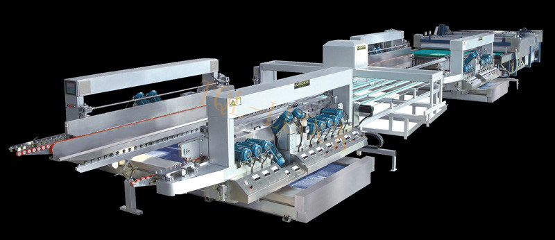 Tql2525 Glass Straight Line Double Edging Production Machine Line