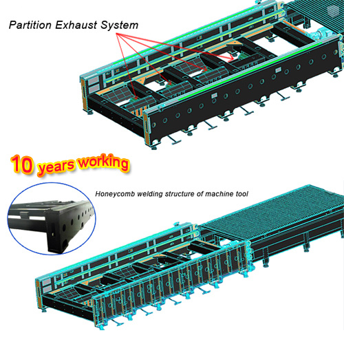 CNC Fiber Laser Machine Cutting for Metal Steel