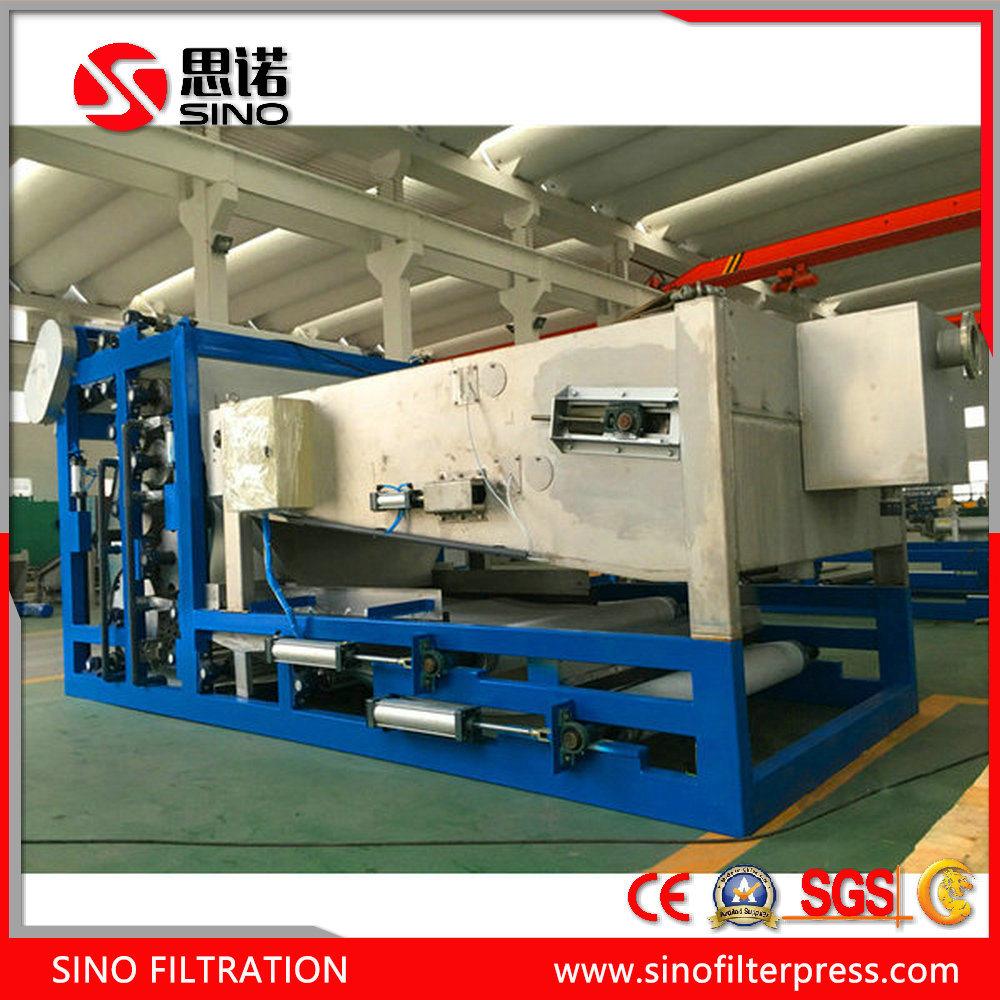China Belt Filter Press Machine for Sludge Dewatering