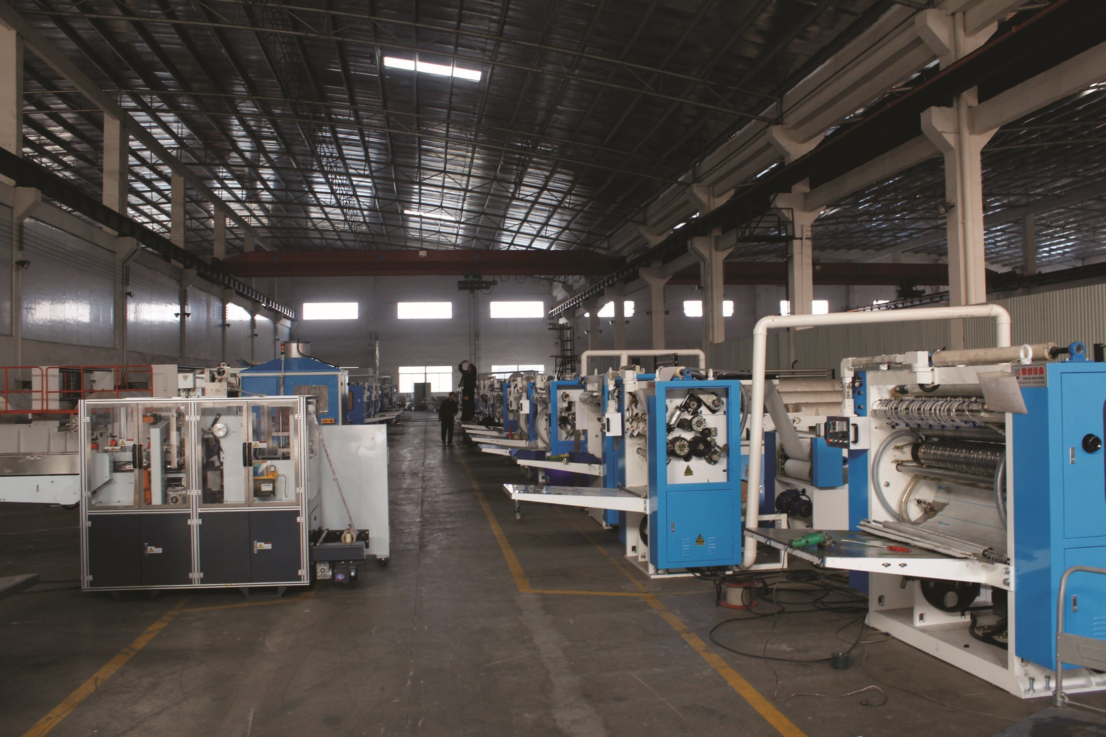 Yekon Machine Tissue Converting Machine