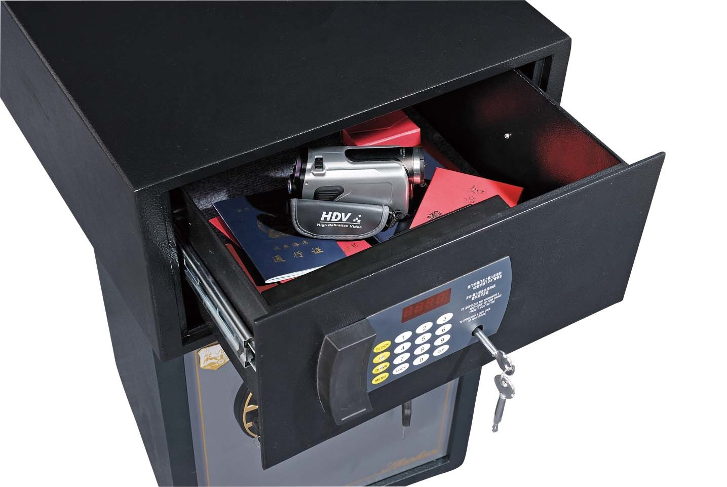 Hotel Safe Box with Dignital Lock- Fy-Dw210-Bk/Wh