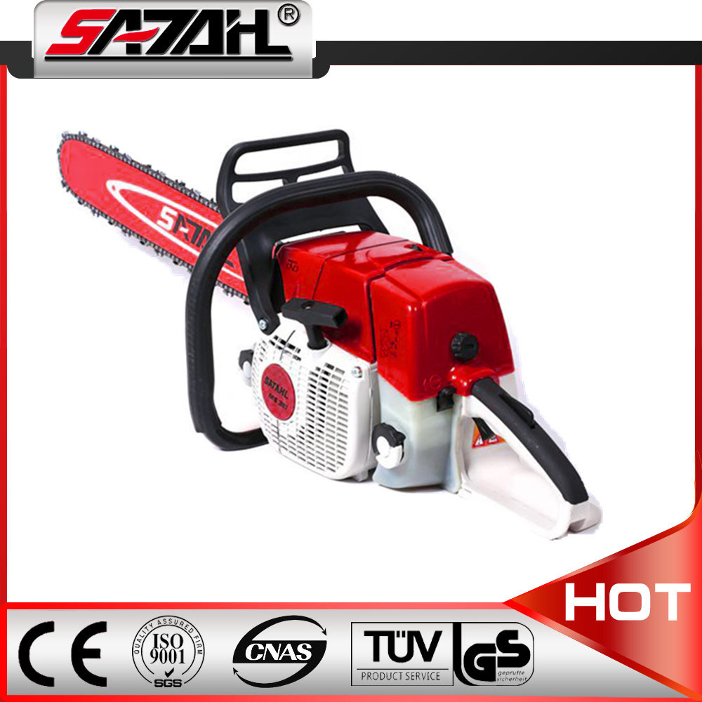2017 Hot Sell 72cc 3.3kw 381/380 Gasoline Chain Saw