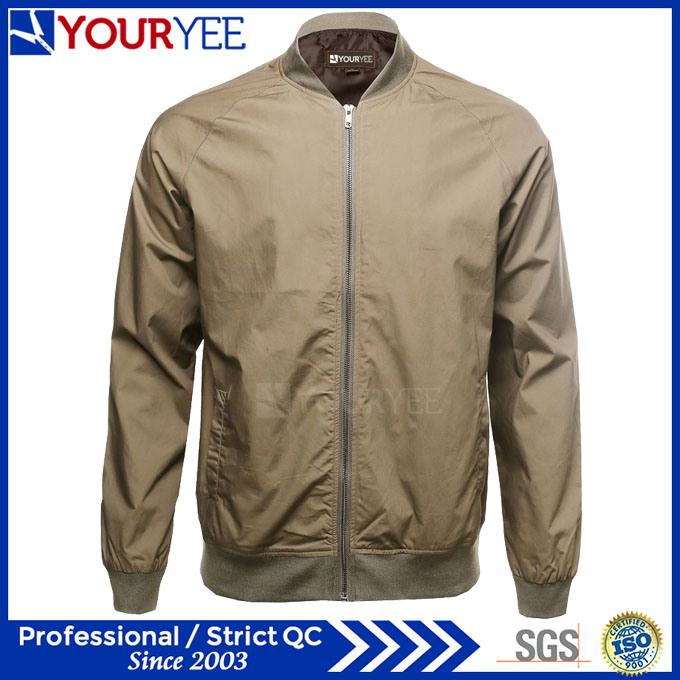 Best Price High Quality Mens Zipper up Bomber Jackets (YBJ113)