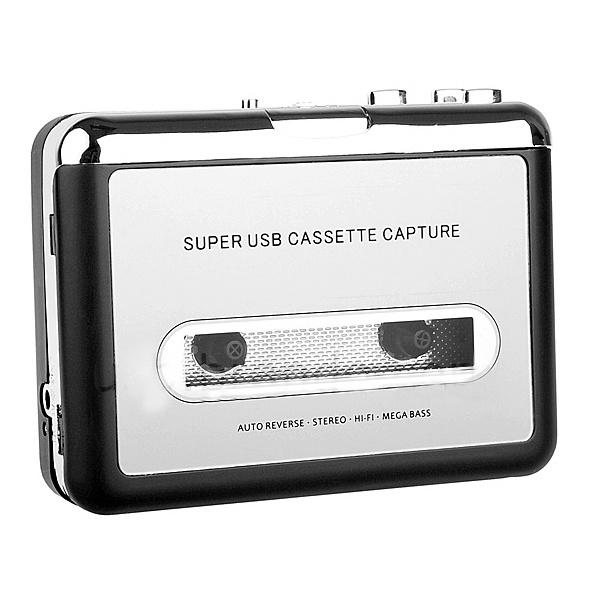Original Portable USB Tape Cassette to MP3 Digital PC Converter Capture Stereo Audio Music Player