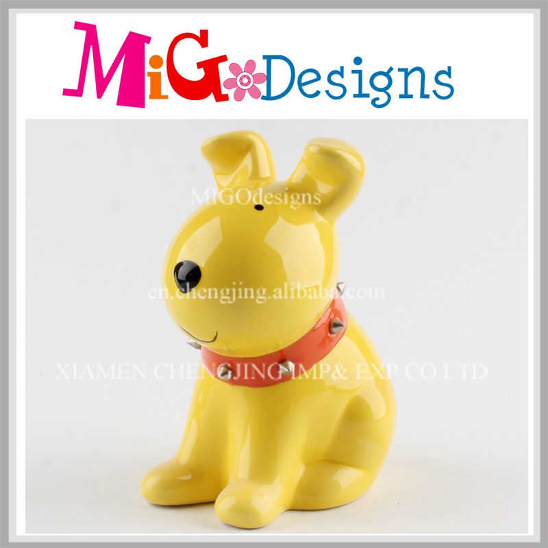 Newly Fashionable Christmas Gifts for Children Ceramic Piggy Bank