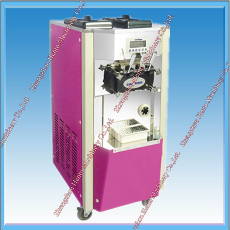 Commercial Ice Cream Refrigerator Freezer Maker Machine