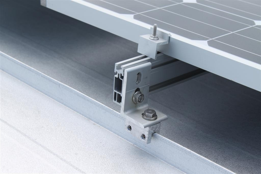 Manufacture Rooftop Solar Mounting Structure Middle Clamp
