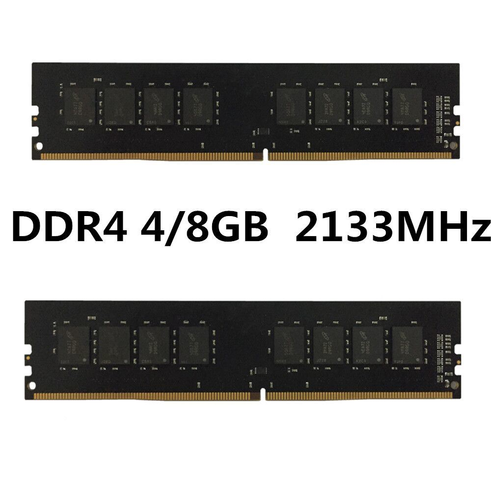 2017 Sales Champion Compatible Unbuffered Memory DDR4 PC2133 4GB 8GB Computer RAM