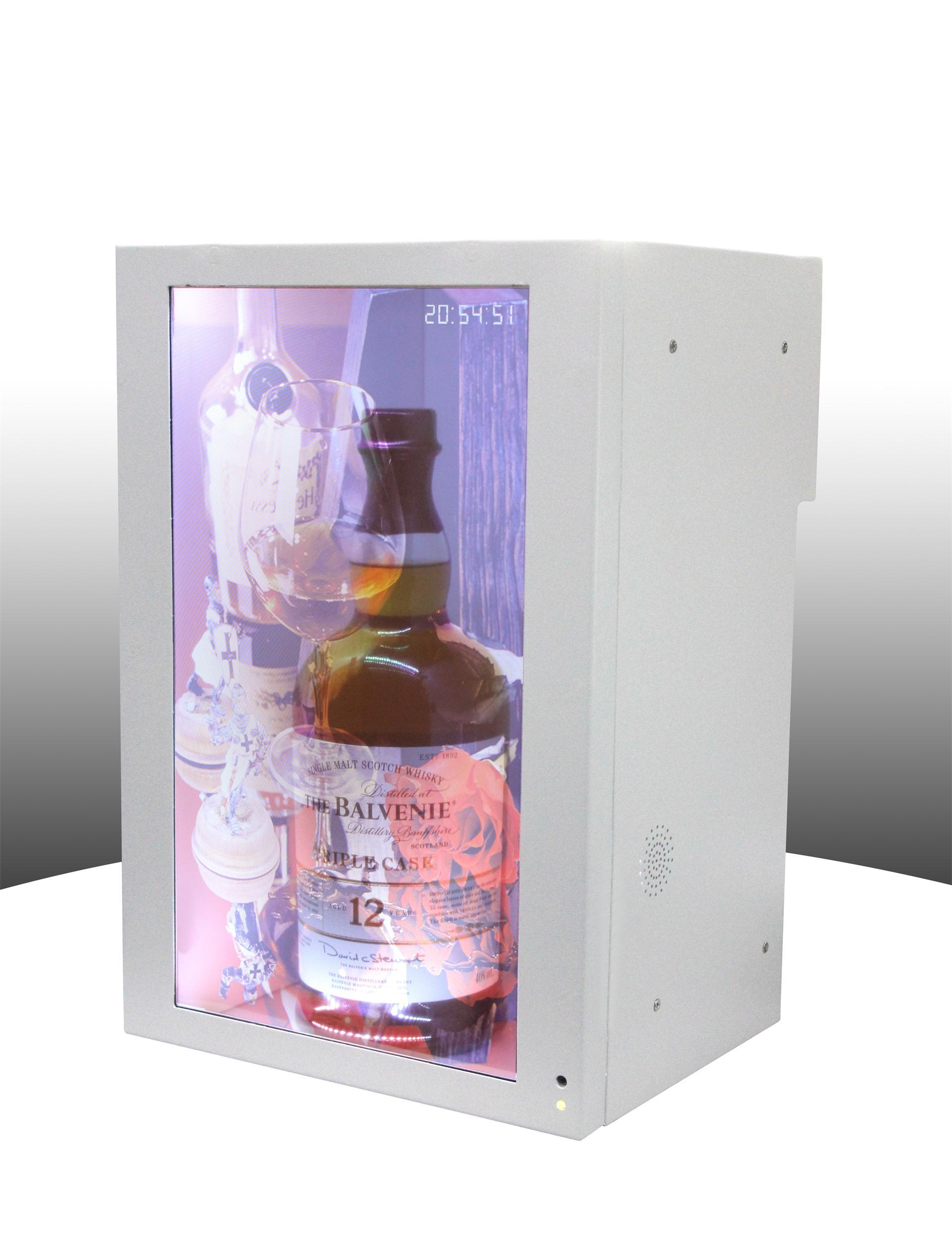 Transparent Advertising Display Box for Luxury Exhibition