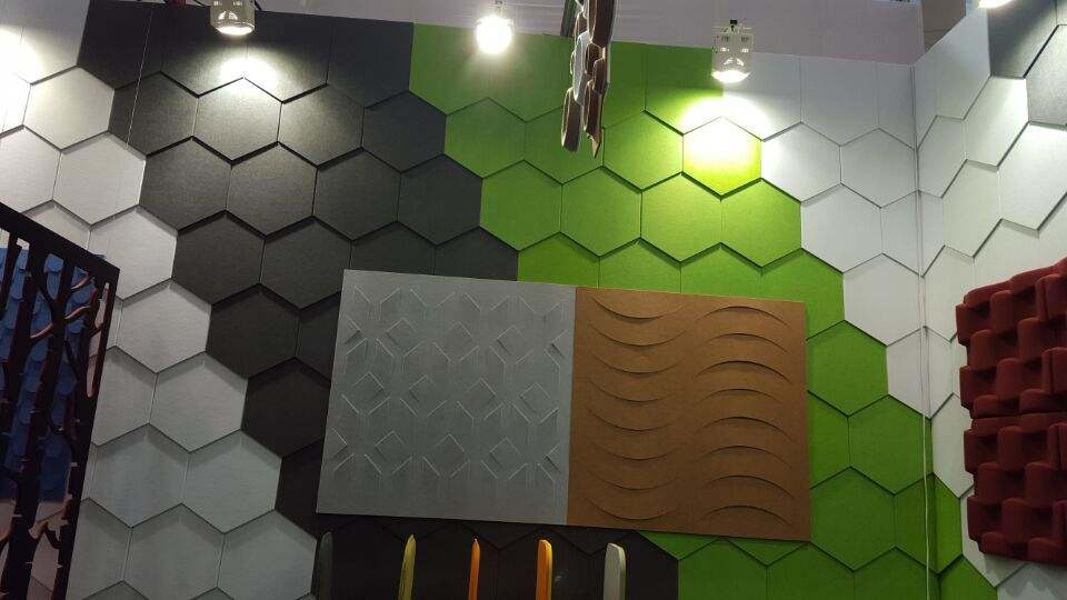 Fibre 3D Wall Decoration Panels