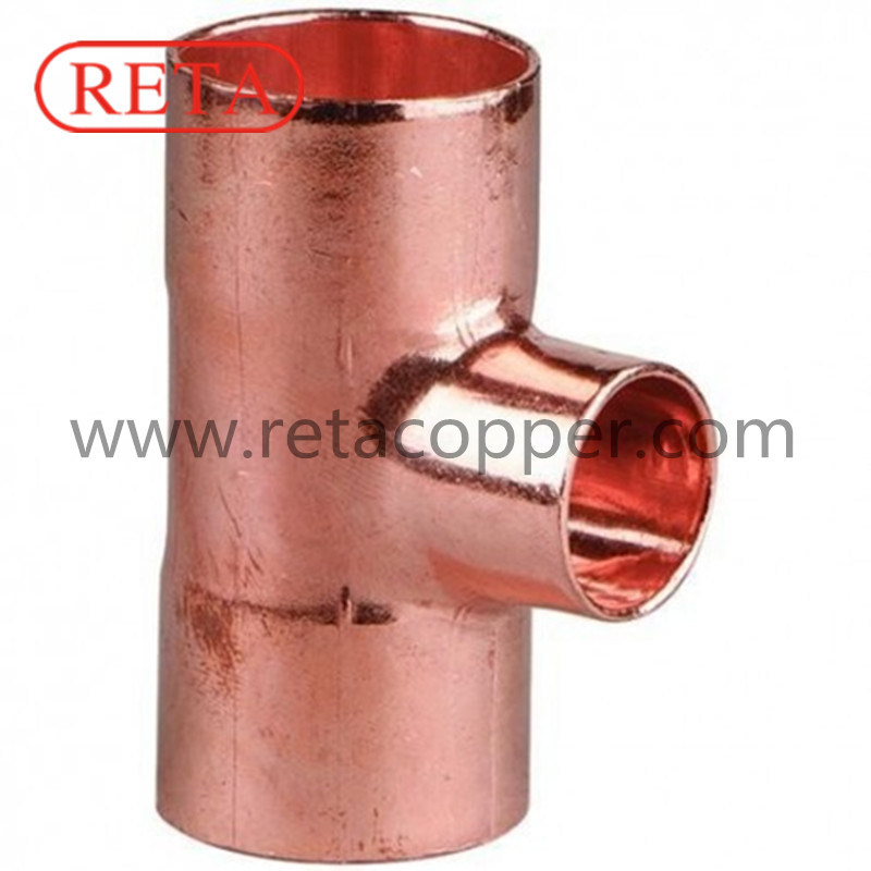 Equal Tee Copper Fitting for ACR
