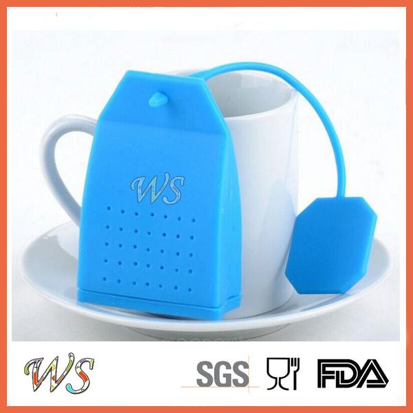 Ws-If061 Food Grade Silicone Tea Infuser Set Leaf Strainer for Mug Cup, Tea Pot