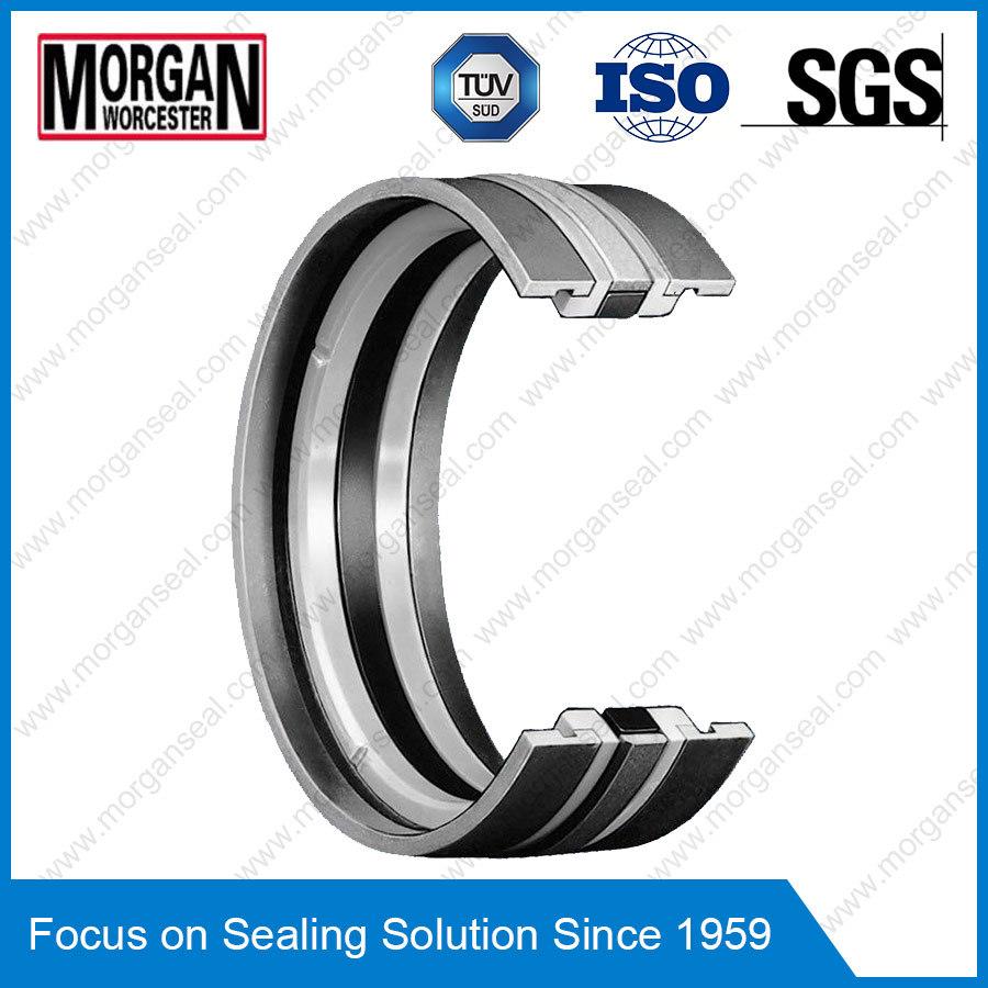 Gd1000k Type PA/PTFE/POM/NBR Hydraulic Cylinder Piston Seal Ring