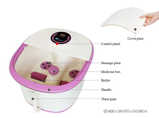 Mimir mm-15c Detox Professional Electric Foot Massage Machine with Great Price