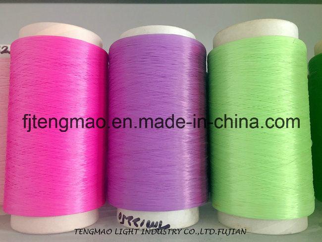 450d Purple FDY PP Yarn for Webbings