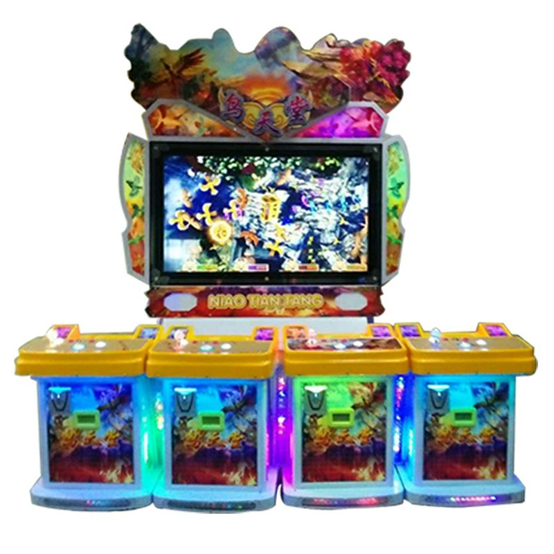 Ausement Slot Machine Birds Fighting Arcade Game Machine