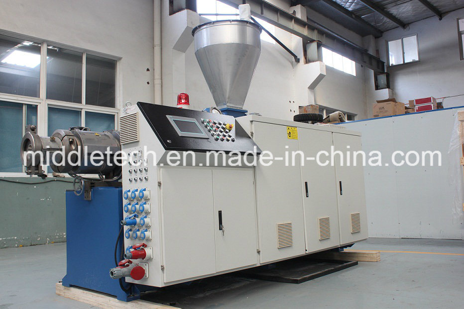 (CE) Plastic Conical Extruder- PVC Window Sill/ Ceiling Profile/ Wall Panel/Edge Banding/Pipe Extrusion Machine
