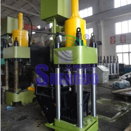 Four Column Aluminum Scrap Briquetting Press Machine with Ce
