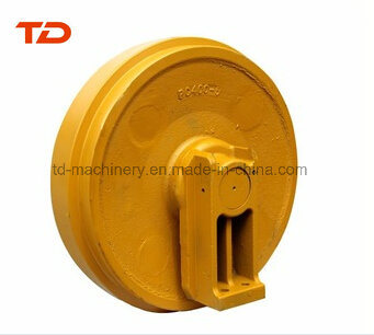 Komatsu PC300 PC400 Front Idler Guide Idler for Excavator/Bulldozer Construction Machinery Undercarriage Parts
