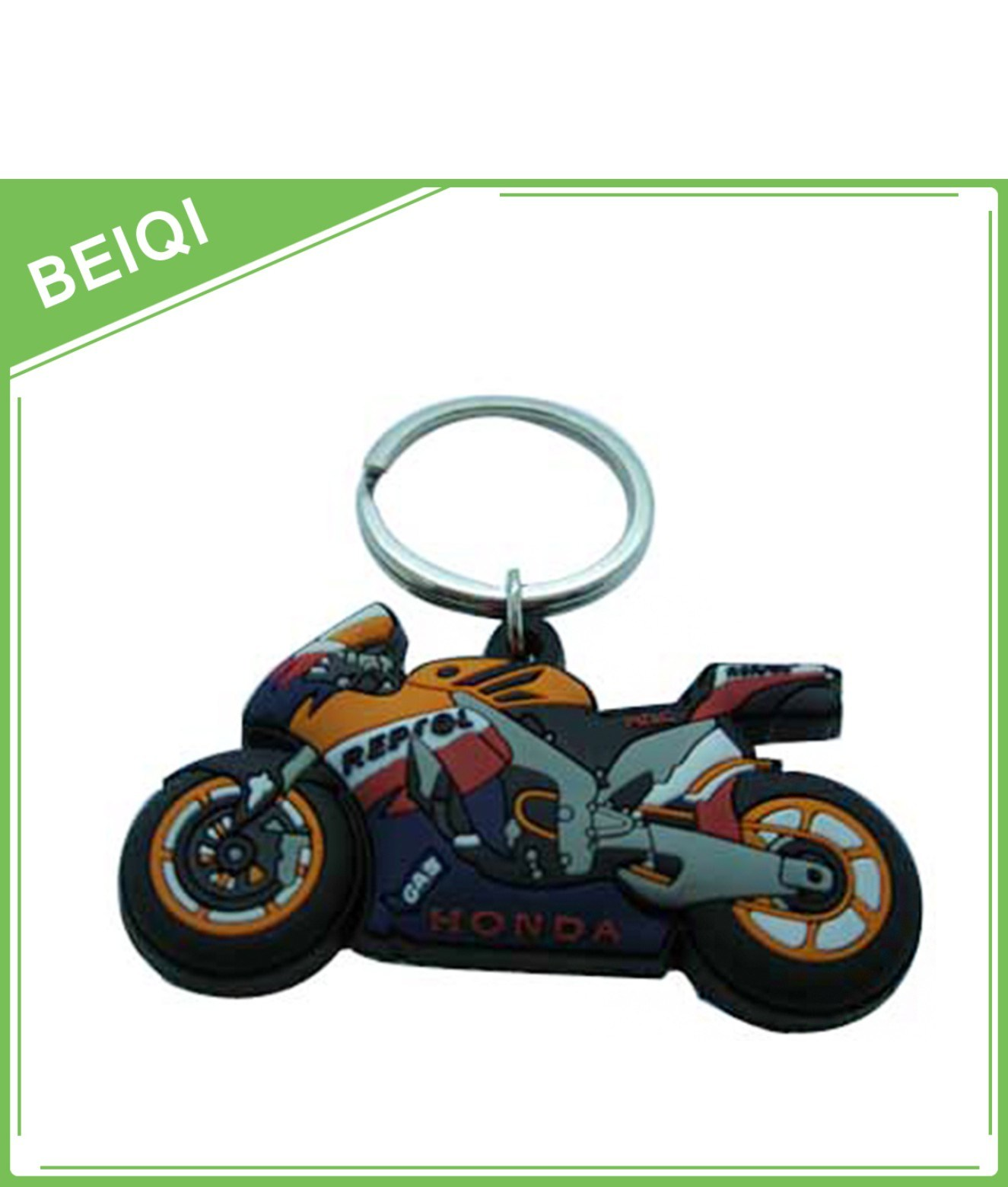 Custom Soft PVC Keychain/3D Rubber Keychain