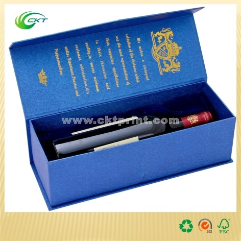 Deluxe Gift Box for Wine Paper Box (CKT-CB-462)
