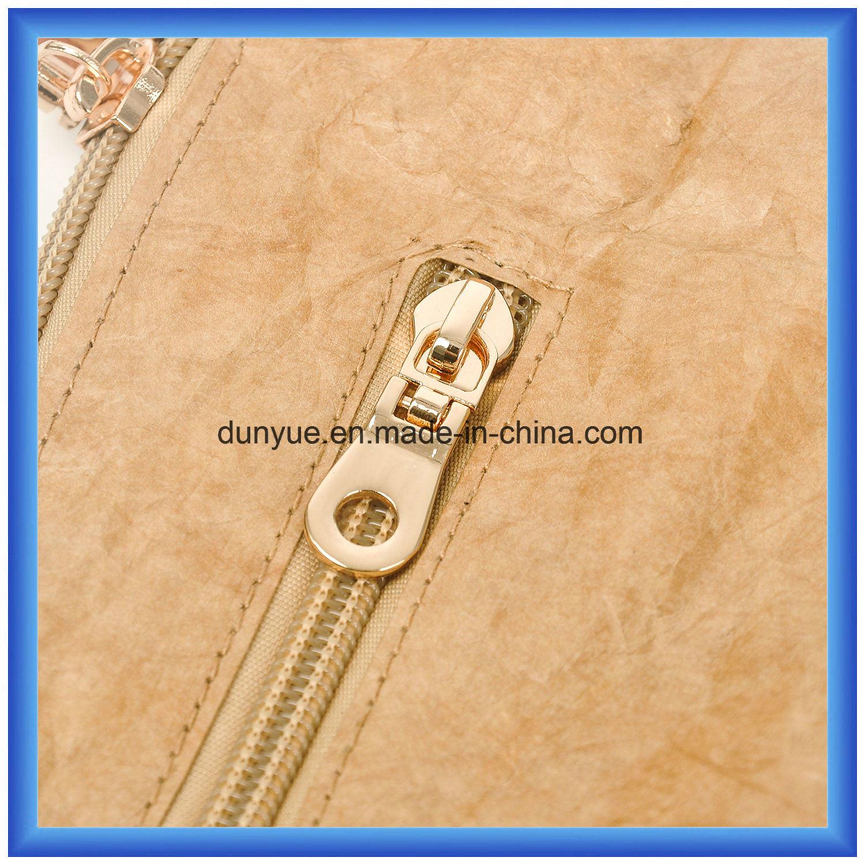 Popular Design New Material DuPont Paper outdoor Sport Backpack Bag, Promotion Slim Tyvek Paper Messenger Backpack Bag with Adjustable Belt