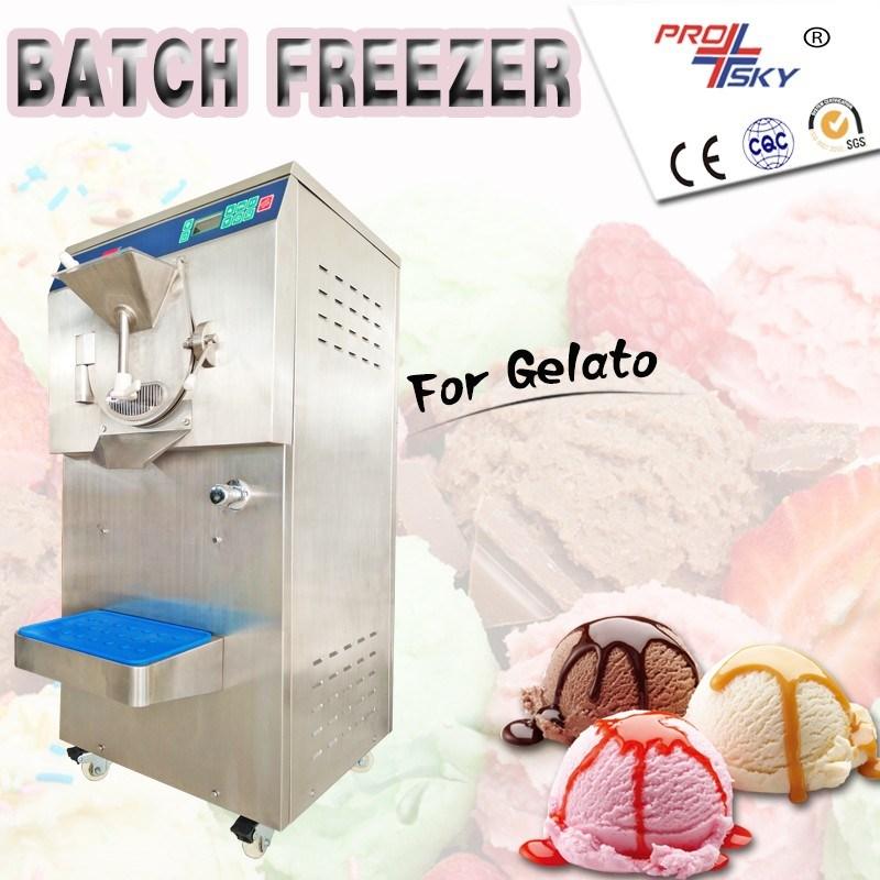 Small Italian Universal Hard Ice Cream Machine