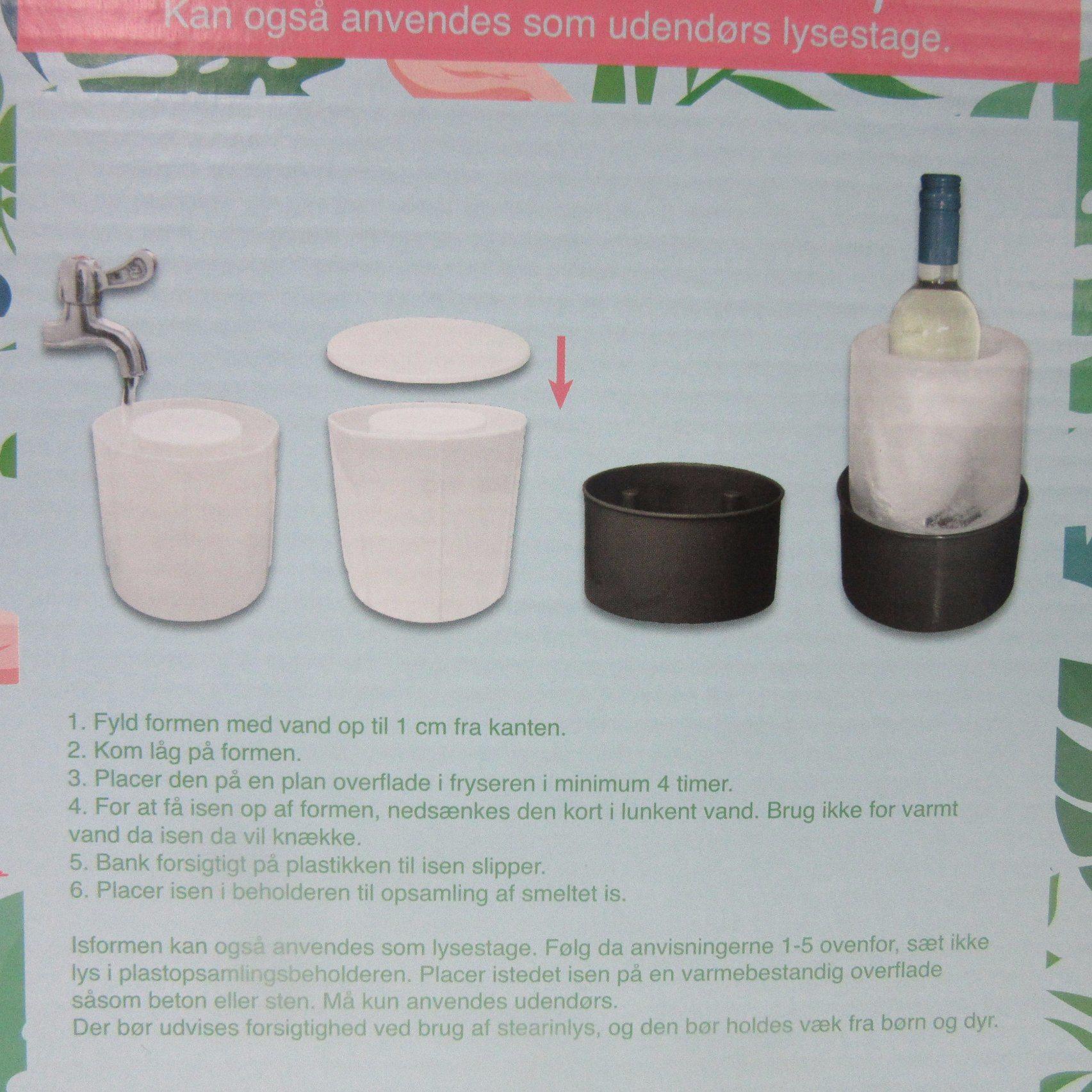 PP Plastic Ice Wine Cooler