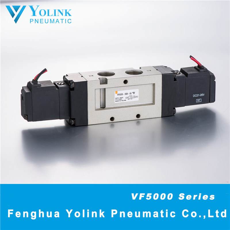 VF5220 Series Pilot Operated Solenoid Valve