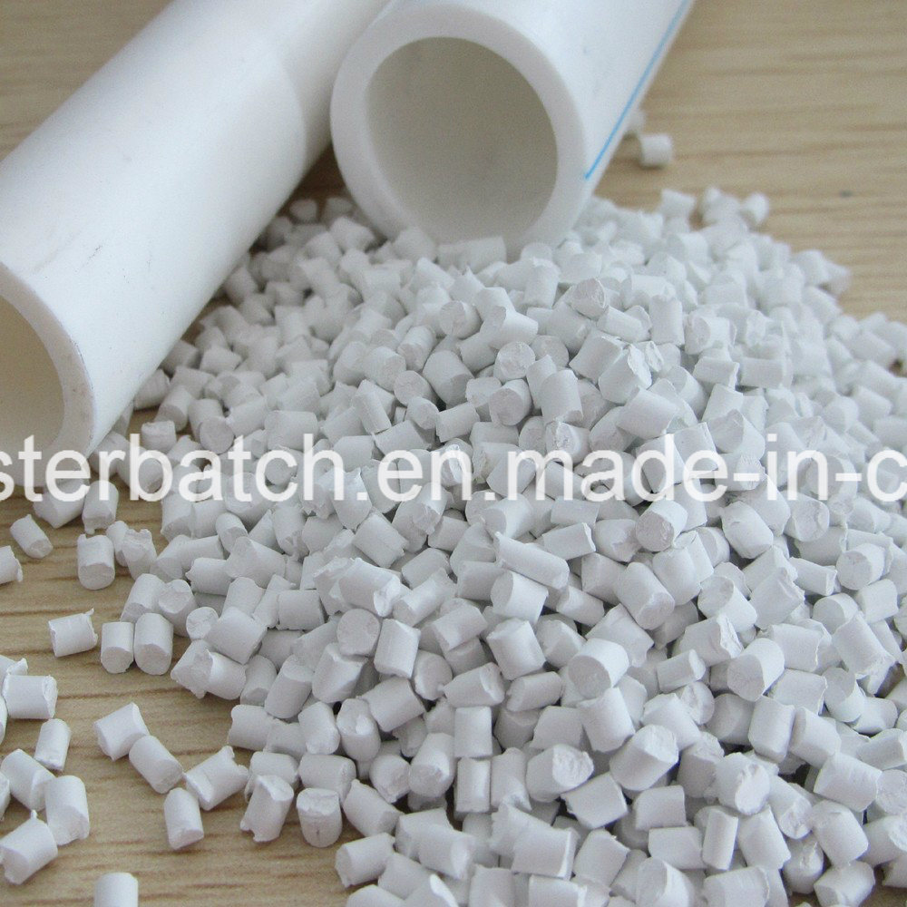 Plastic PE PP ABS White Color Masterbatch