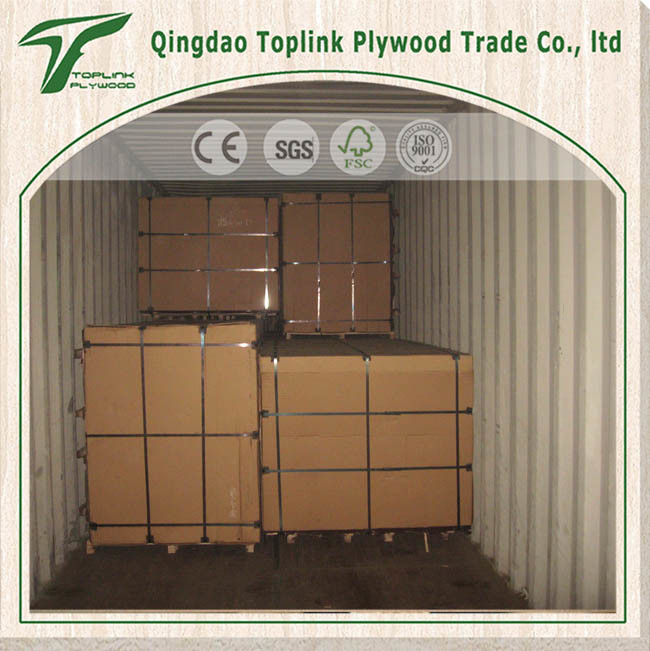 China Poplar Black Film Faced Plywood for Construction From Factory
