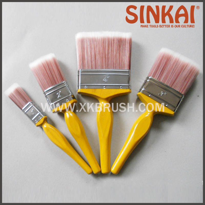 Paint Brush Set From 1′′ to 5′′ with Kaiser Style Handle