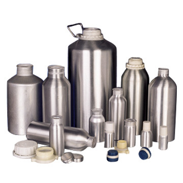 Aluminum Essence Bottle
