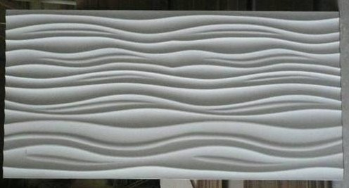Wallpannel on 3d Wall Panel   China Mdf Wave Panel Indoor Decorative Panel