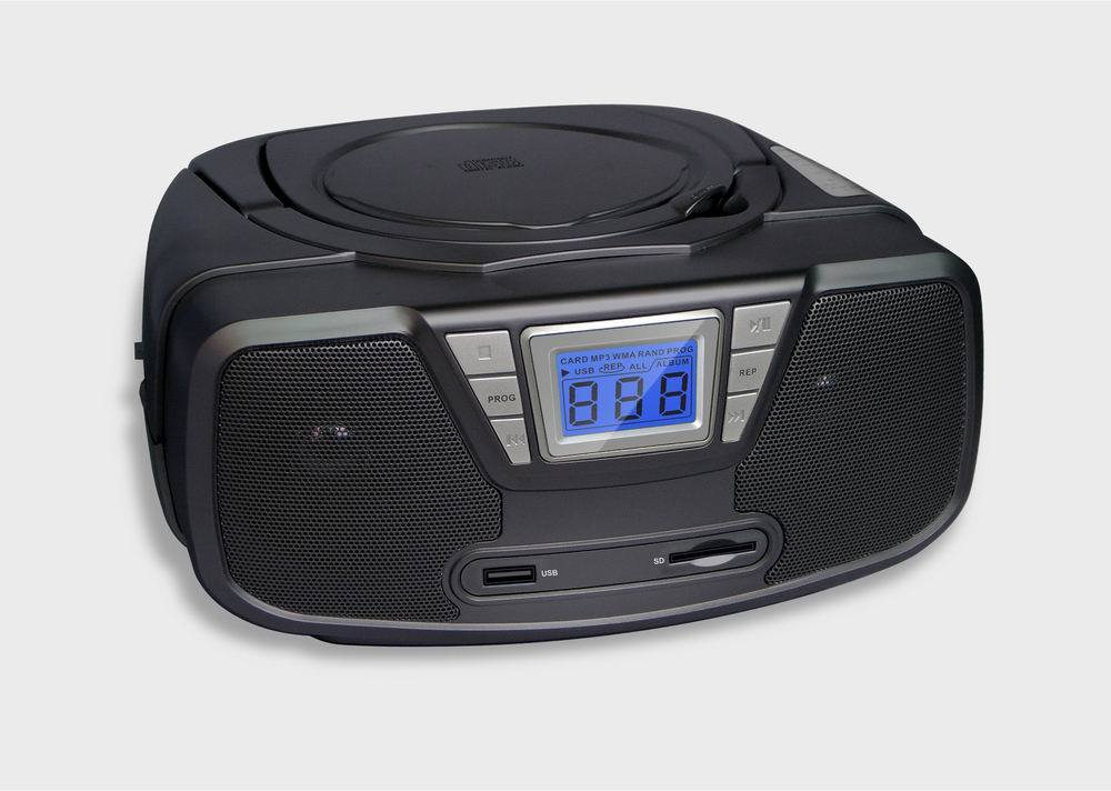 china portable cd radio player with mp3 usb sd mmc card w cd008 us china portable cd radio. Black Bedroom Furniture Sets. Home Design Ideas