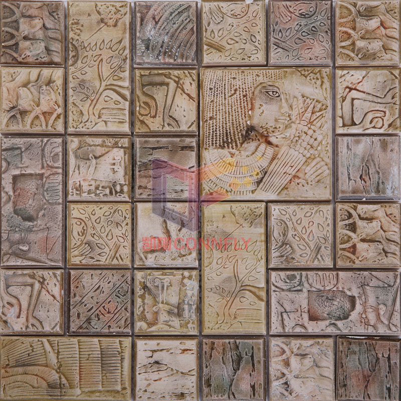 China Ancient Egypt Style Ceramic Mosaic Tiles Cst094