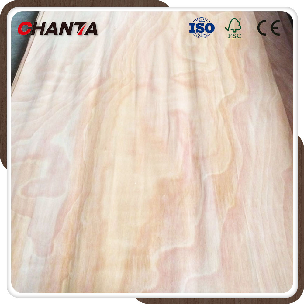 Natural Rotary Cutting Okoume Face Wood Veneer for Plywood