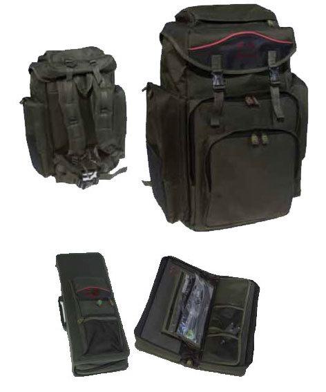 China fishing bag rig folder and rucksack china for Rigged fishing backpack