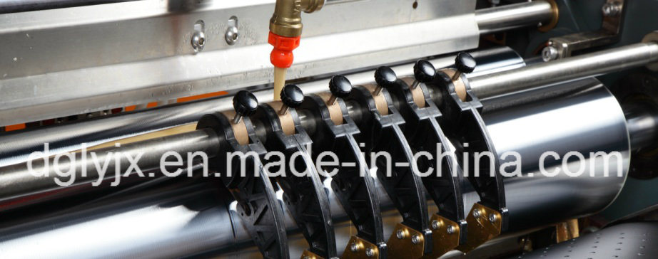 Visual Positioning Machine for Making Rigid Box Making Machine with Corner Tape