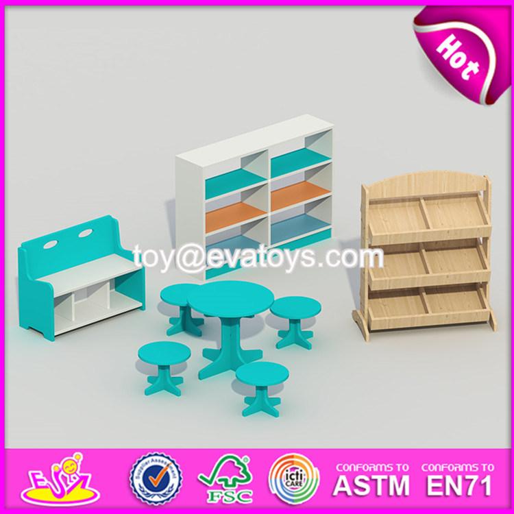 Wholesale Cheap Children Preschool Wooden Kindergarten Furniture W08h075-S