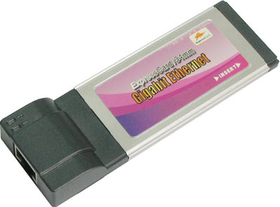 Gigabit Ethernet Specification on Gigabit Ethernet Expresscard   China 1000 Base T Gigabit Ethernet