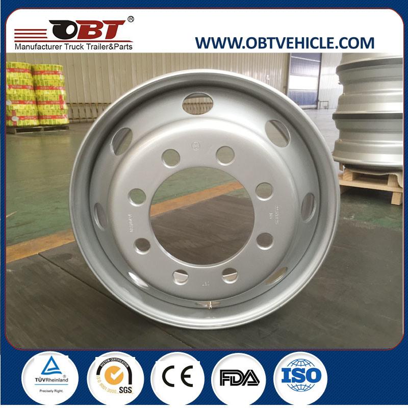 22.5*11.75 22.5*13.00 22.5*14.00 Heavy Steel Truck Wheels Rim for Sale