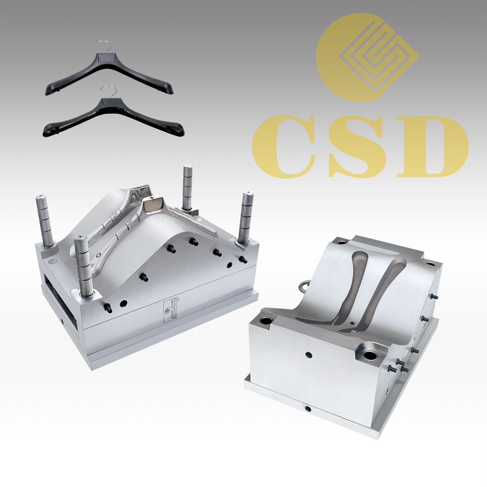 Injection Mold for Plastic Hanger
