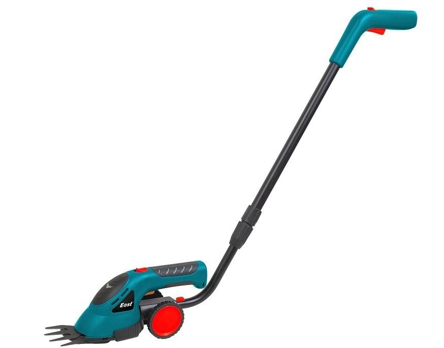 China cordless grass shear li ion battery china garden for Lightweight long handled garden shears