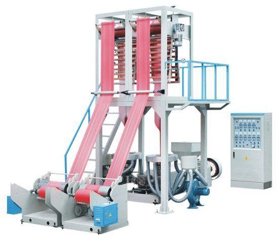 Two Die HDPE Film Blowing Machine