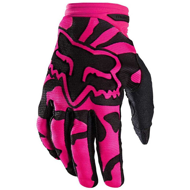 Purple Women′s Full Finger Cycling Motor Racing Glove (MAG62)