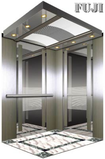 Cabin with Double Sided Mirror Passenger Elevator/ Lift